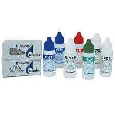 ColorQ, DPD 1A, DPD 1B, DPD 3, pH, ALK, CH1, CH2, LIQUID REAGENT, test liliquid
